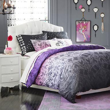 Metamorphose Blue Cotton Sateen Quilt Cover Set by Bedding House