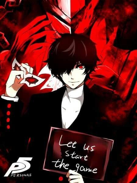 Persona 5 Let Us Start The Game Persona 5 Persona Akira Kurusu