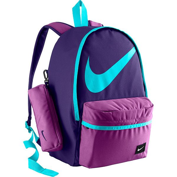 adb571a9e0 Nike Young Athletes Halfday BTS Backpack (€31) ❤ liked on Polyvore  featuring bags