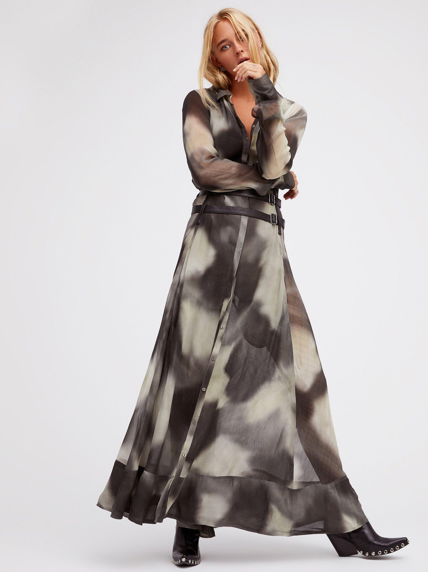Capsule dress beautiful flowy long sleeve maxi dress featuring a