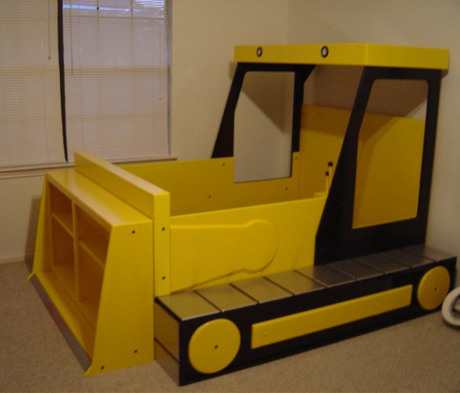 Bulldozer Kids Bed   The WHOot