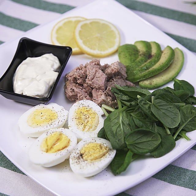 Tuna hard boiled eggs avocado and spinach and mayo... #keto #intermittentfasting #fasting #IF #ketosis #ketogenic #ketolifestyle #ketolife #lowcarb #ketodiet #lowcarbdiet #weightloss #weightlossjourney #weightlosstransformation #healthyfood #healthydiet #diet #ketocommunity #beforeandafter #hawaiiketo #ketofood #ketorecipe #lowcarbmeals #dirtyketo #lazyketo #boiledeggnutrition Tuna hard boiled eggs avocado and spinach and mayo... #keto #intermittentfasting #fasting #IF #ketosis #ketogenic #ketol #boiledeggnutrition