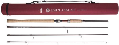 Fishing Uk Abu Garcia Diplomt 4 Piece Spinning Rod 4 Sizes 8ft 9ft 10ft 11ft 6 Salmon Trout Sea Trout Game Pike Coarse Sp Fishing Uk Spinning Rods Rod