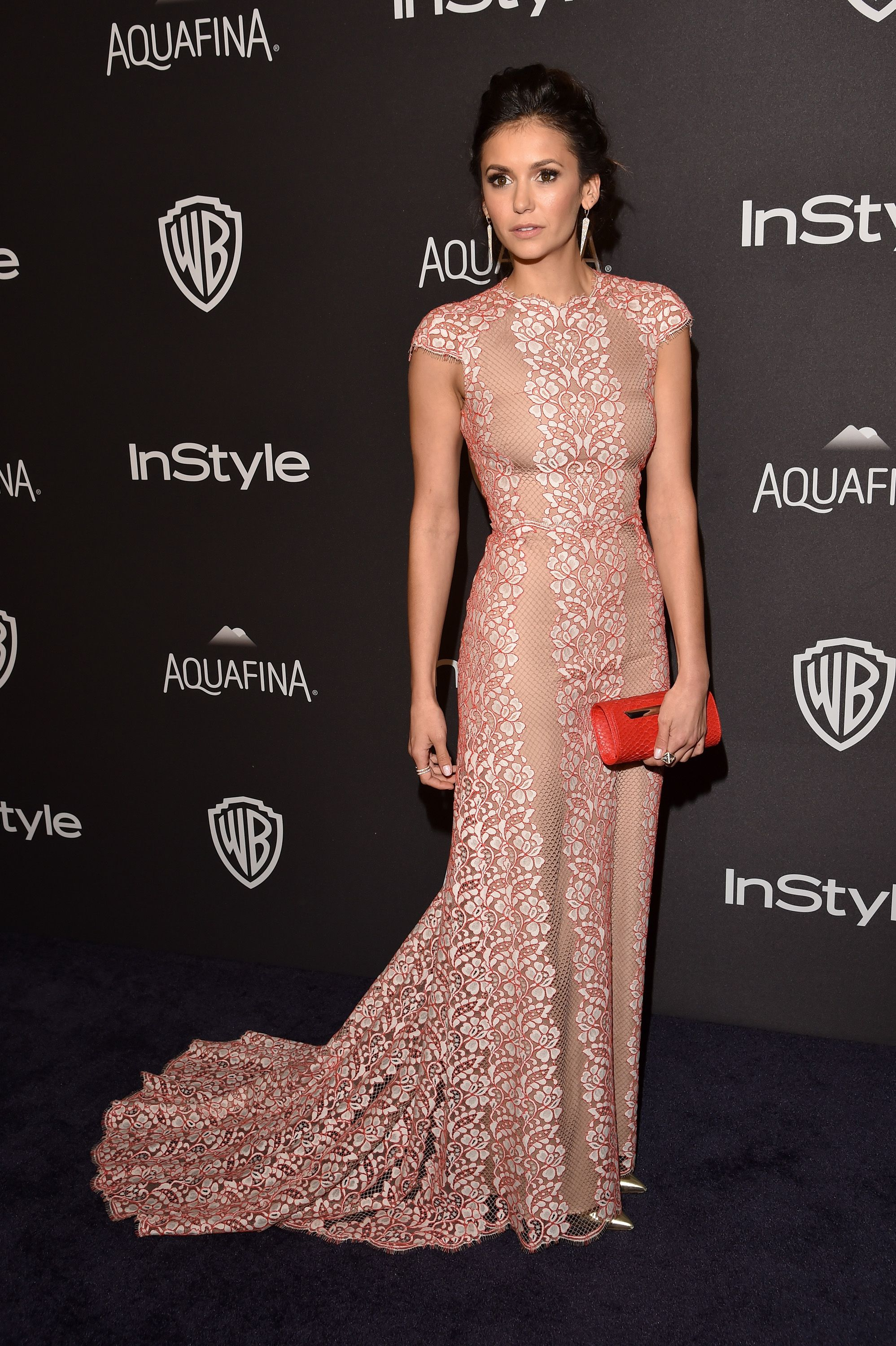 Nina Dobrev \ The Best-Dressed Stars at the Golden Globe Awards 2016 After-Parties | StyleCaster