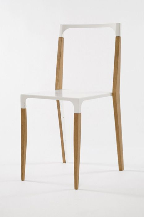 minimal chair. Looks almost invisible!