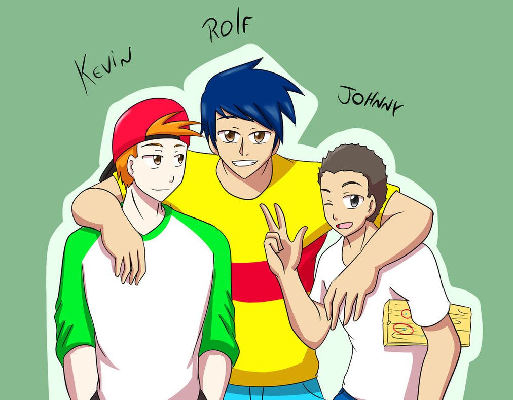 Eene Kevin Rolf And Johnny By Blizzarddemon