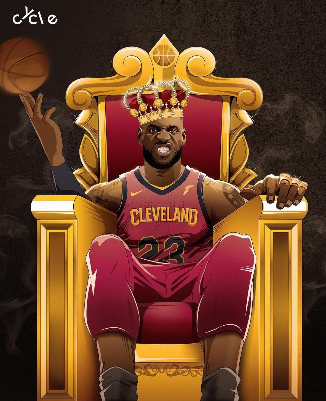 Pin by Tat Jackson on Sports Lebron james art, King