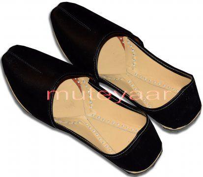 Handmade Leather Punjabi Jutti Shoes