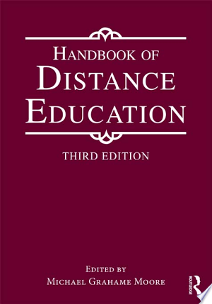 Handbook Of Distance Education Pdf Free Distance Education Education Education And Development