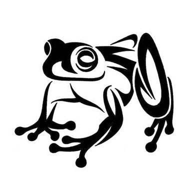 10 Beautiful Tribal Frog Tattoos | Only Tribal | ZENTANGLE ...