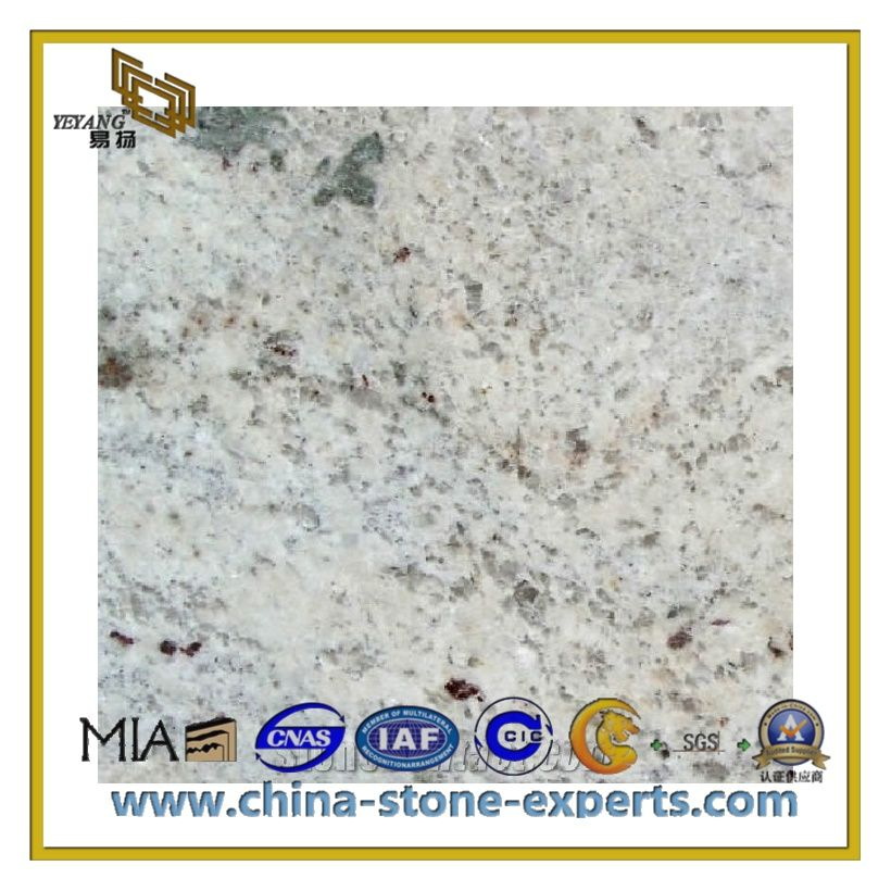 Best Natural Polished Pure White Granite Slab For Countertop 400 x 300