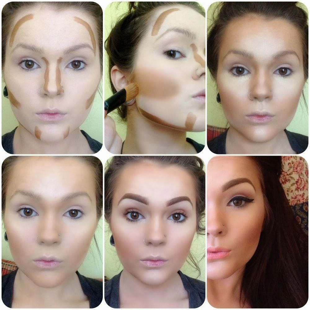 natural contour look for pale faces Google Search