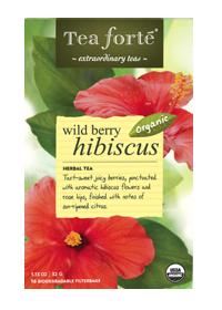 Organic Wild Berry Hibiscus Tea 16 Tea Bags By Tea Forte Inc At The Vitamin Shoppe Hibiscus Tea Tea Forte Wild Berry