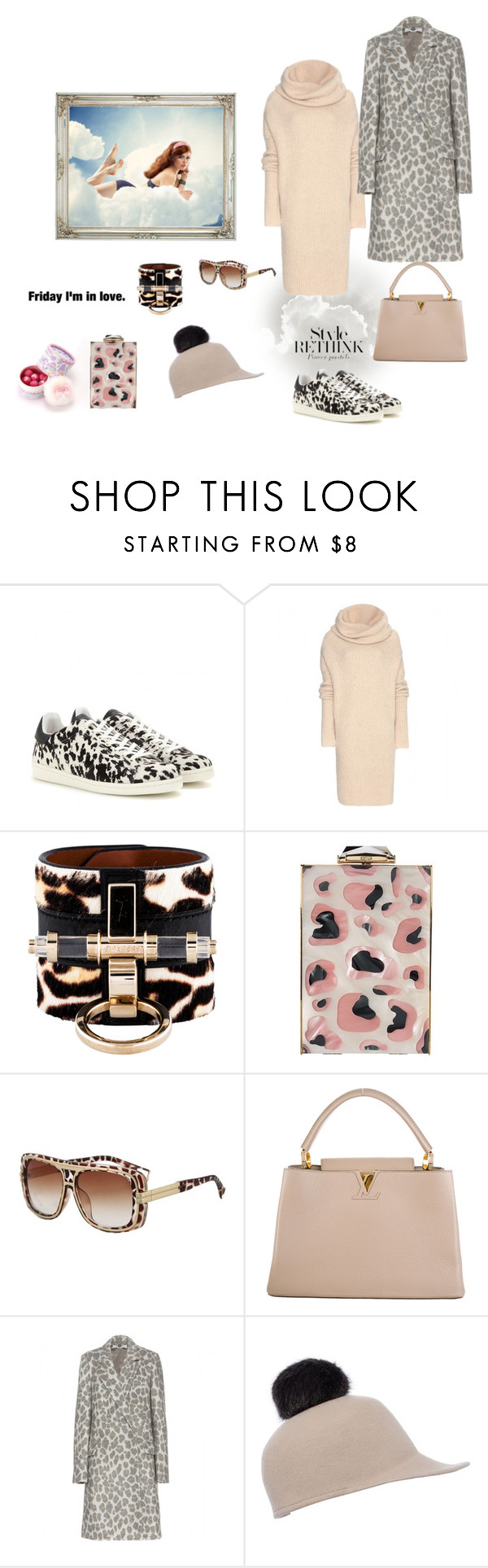 """""""finaly friday"""" by juliabachmann ❤ liked on Polyvore featuring Isabel Marant, Haider Ackermann, Givenchy, KOTUR, Louis Vuitton, STELLA McCARTNEY and Helene Berman"""