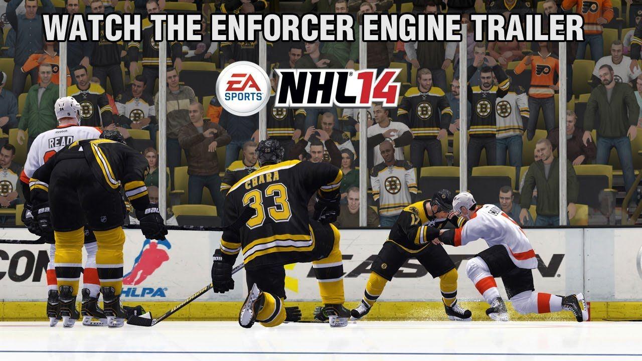 awesome NHL 14 Enforcer Engine Gameplay Trailer Check more at http://99trailer.de/1797_nhl-14-enforcer-engine-gameplay-trailer/