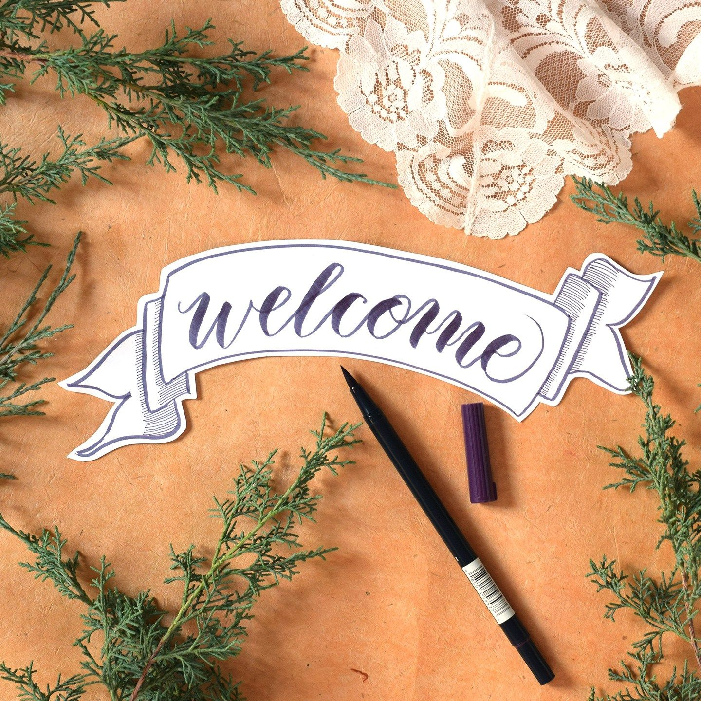 How To Write Crayola Calligraphy With Images