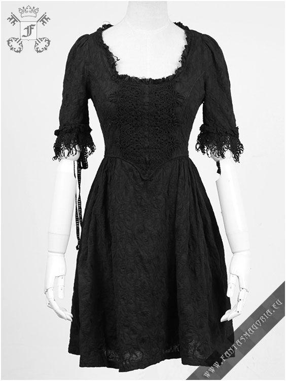 The Ghost Black Vintage Dress Q 233 Fantasmagoria Shop Retail Wholesale Gothic Clothes And Accessories Steampunk Dress Vintage Black Dress Punk Dress