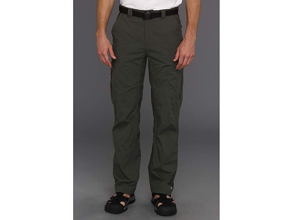 Columbia Silver Ridgetm Cargo Pant Gravel Mens Clothing See what waits around the next bend in the Silver Ridge Cargo Pant Regular Fit is an easy lightly relaxed fit for...