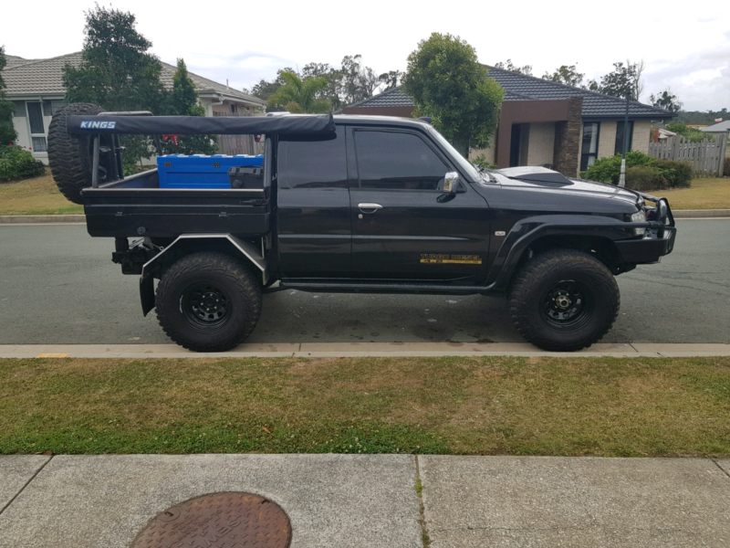 Modified Gu Patrol Space Cab Td42 Turbo Diesel Coomera Gold Coast