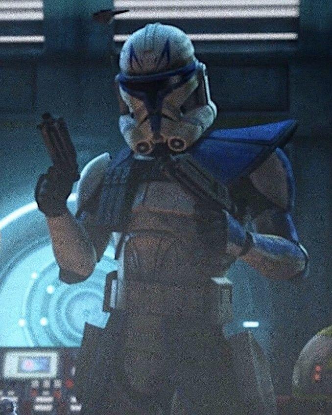 Captain Rex Star Wars Images Star Wars Fan Art Star Wars Wallpaper