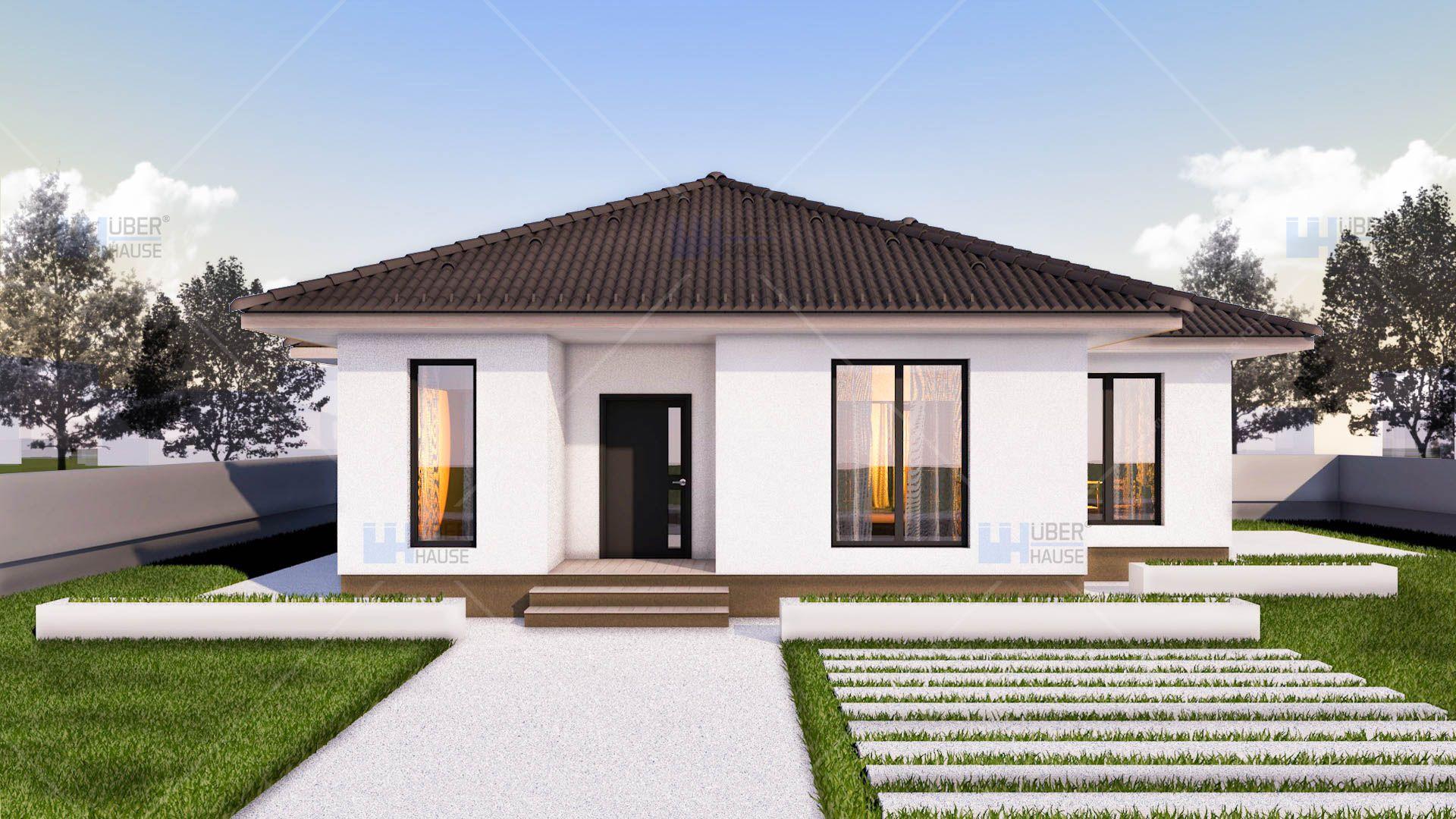 Proiect casa EMA Parter 2 camere