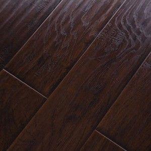 Handscraped Laminate Flooring laminate flooring handscraped laminate flooring and engineered hard wood floor 638 Handscraped Click Lock Hickory Espresso Laminate Flooring
