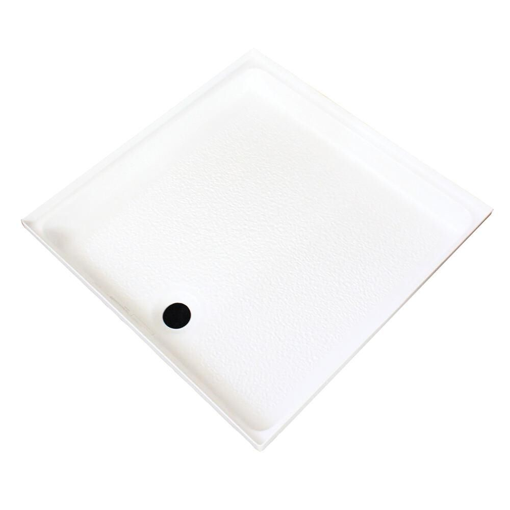 "ABS Shower Pan, 24"" x 24"" x 2 1/2"", White in 2020 Shower"