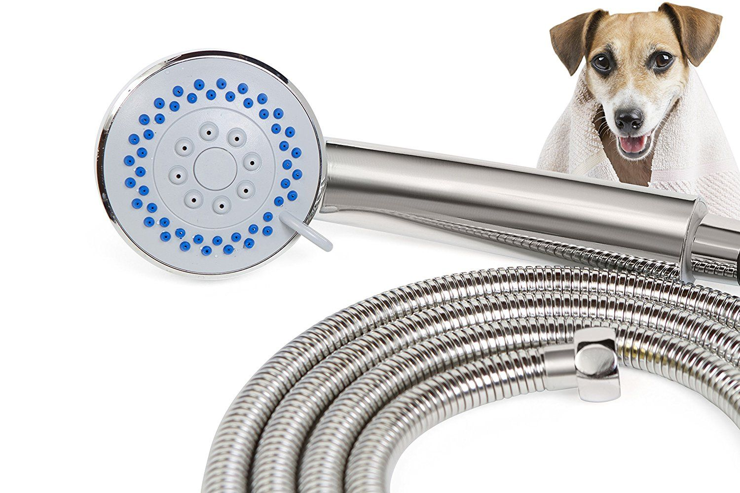 Smarterfresh Pet Faucet Sprayer Set Dog Shower For Home Dog
