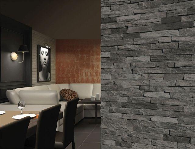 pierre de parement rev tement mural et int rieur d coratif maison pinterest cladding. Black Bedroom Furniture Sets. Home Design Ideas