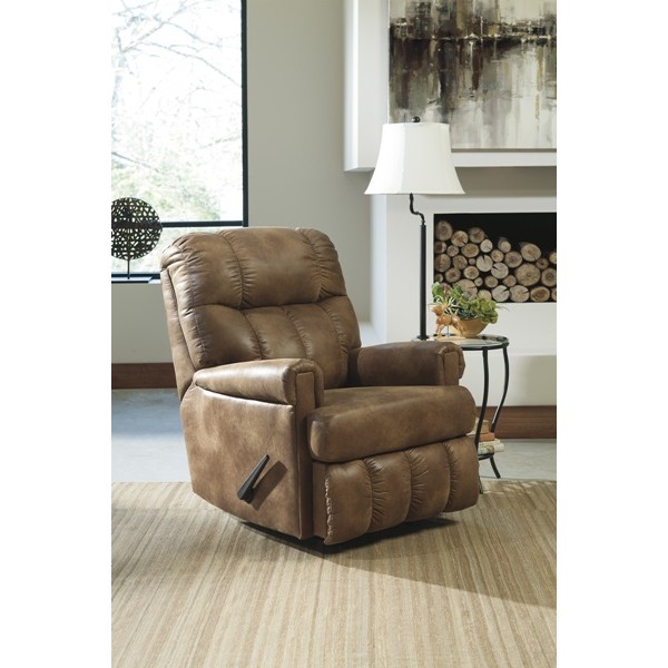Almond Rocker Recliner | Brianu0027s Furniture