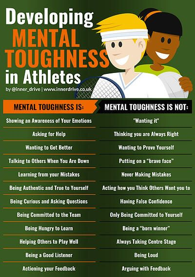 How can you develop your mental toughness?