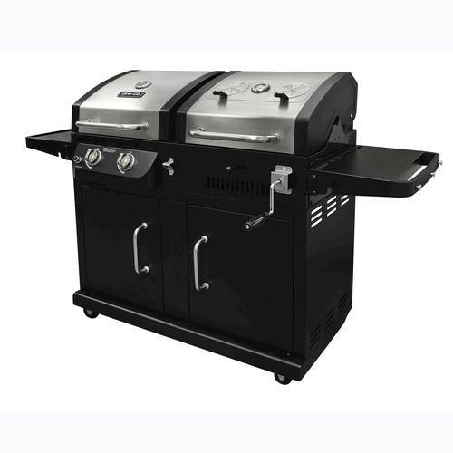 Dyna Glo Charcoal Lp Gas 24 000 Btu Dual Fuel Grill At Menards Dual Fuel Grill Gas Grill Gas And Charcoal Bbq