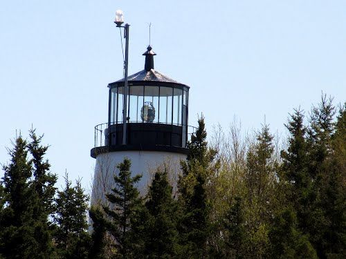 Owls Head Light - overlooking Penobscot Bay and the southern entrance to Rockland Harbor.