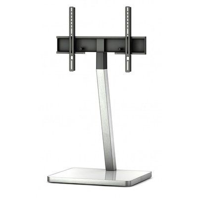 Modern Black/Sliver Swivel Floor Stand Mount