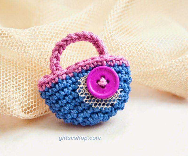 Crochet Brooch Free Pattern Ktd Jewellery Accessories