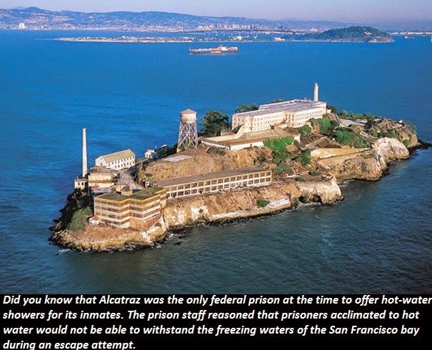 Things You Didn T Know Did You Know That Alcatraz Was The Only
