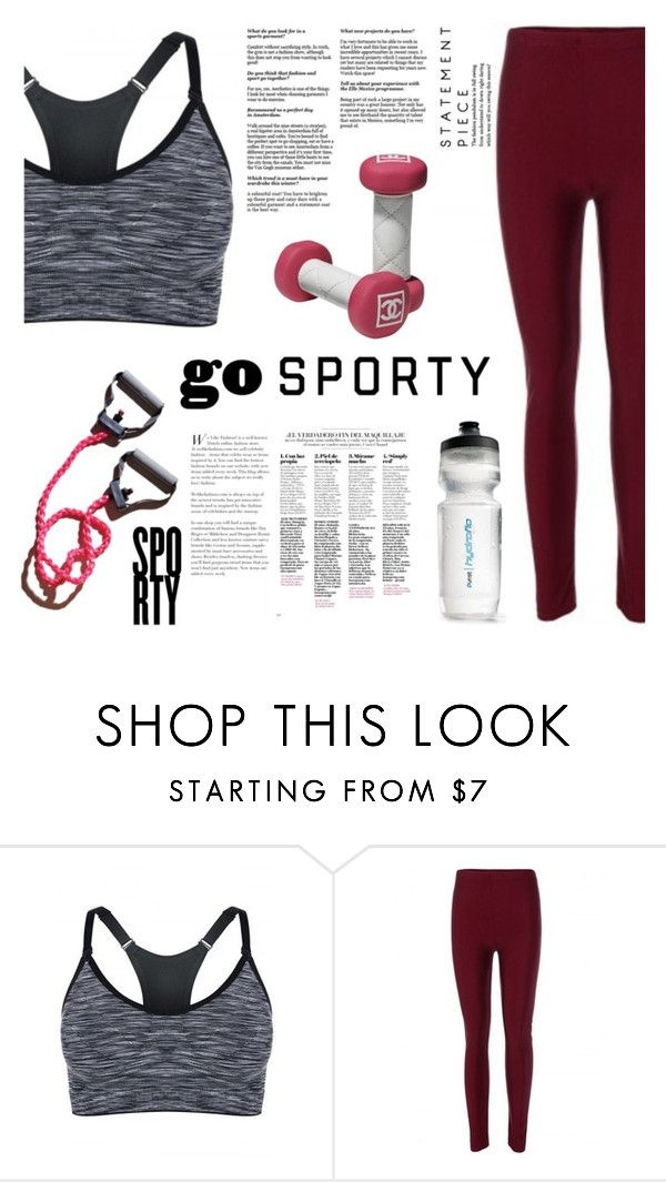 """""""Go sporty!"""" by elmaimsirovic ❤ liked on Polyvore featuring MANGO, black, sporty and Sports"""