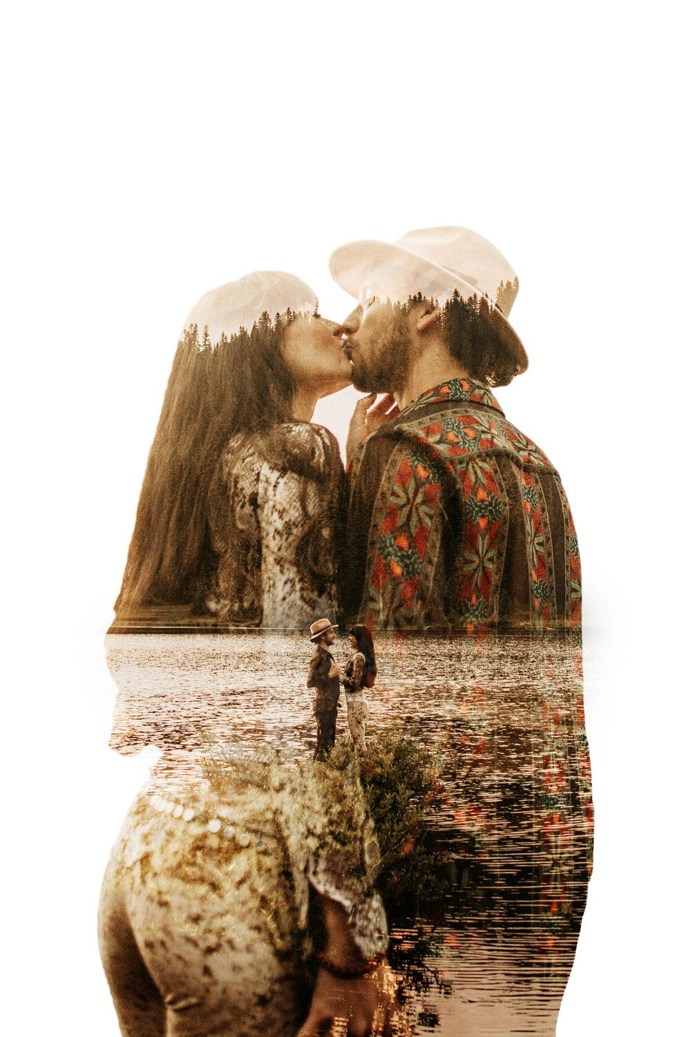 How to Make a Double Exposure — %Elopement + intimate wedding photographer