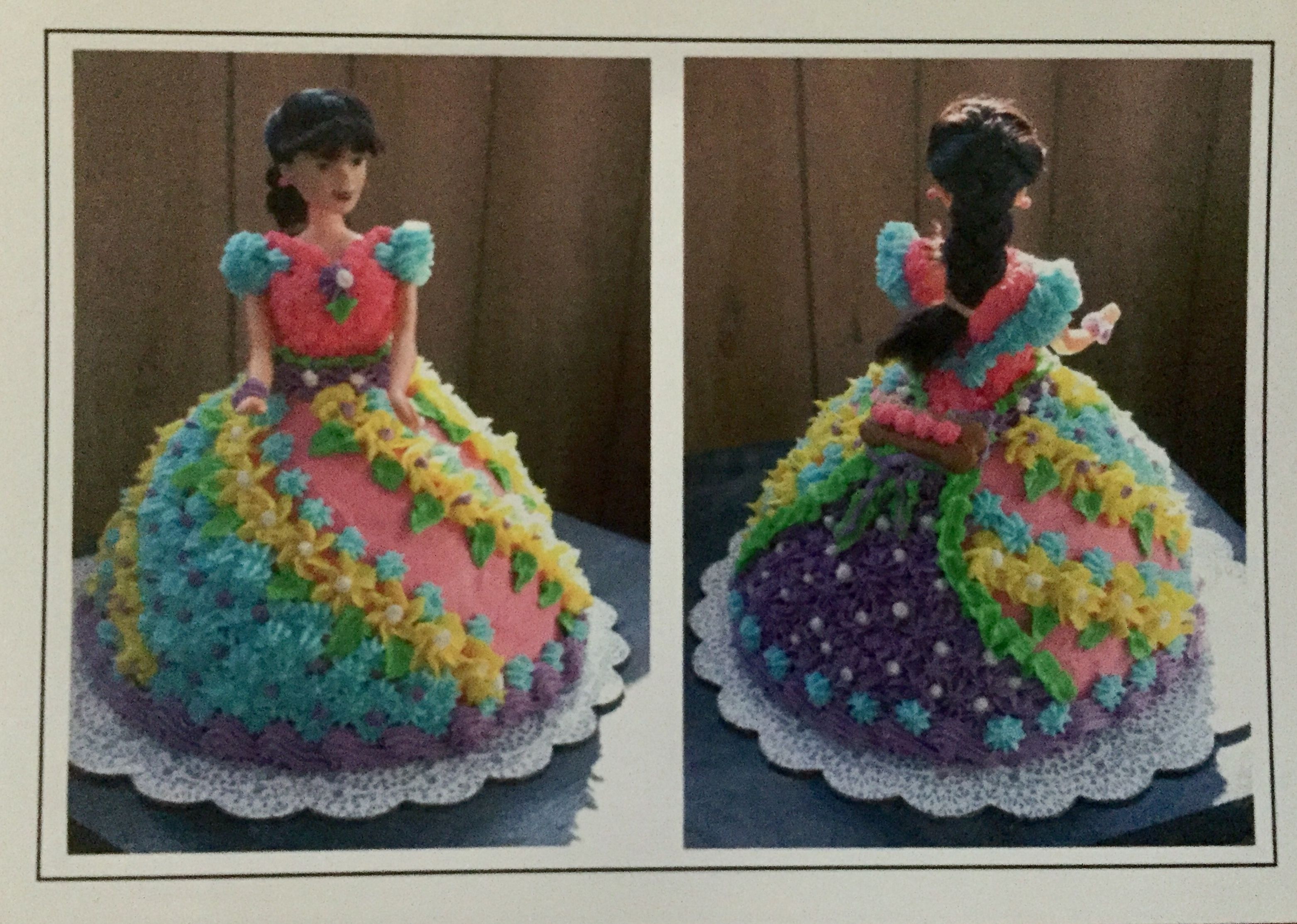 Doll cake front connies 10th birthday allentown