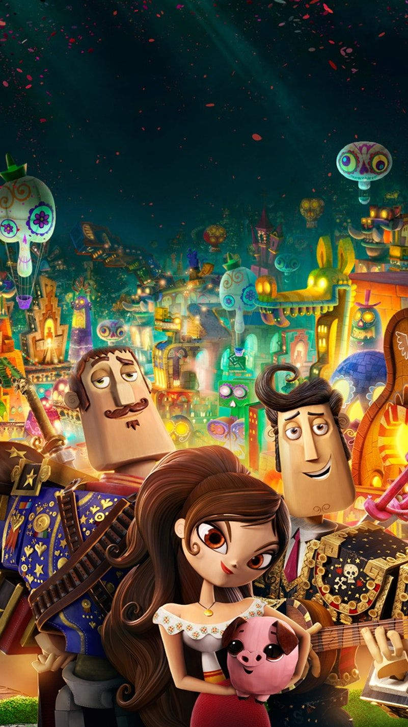 The Book Of Life 2014 Phone Wallpaper Book Of Life Life