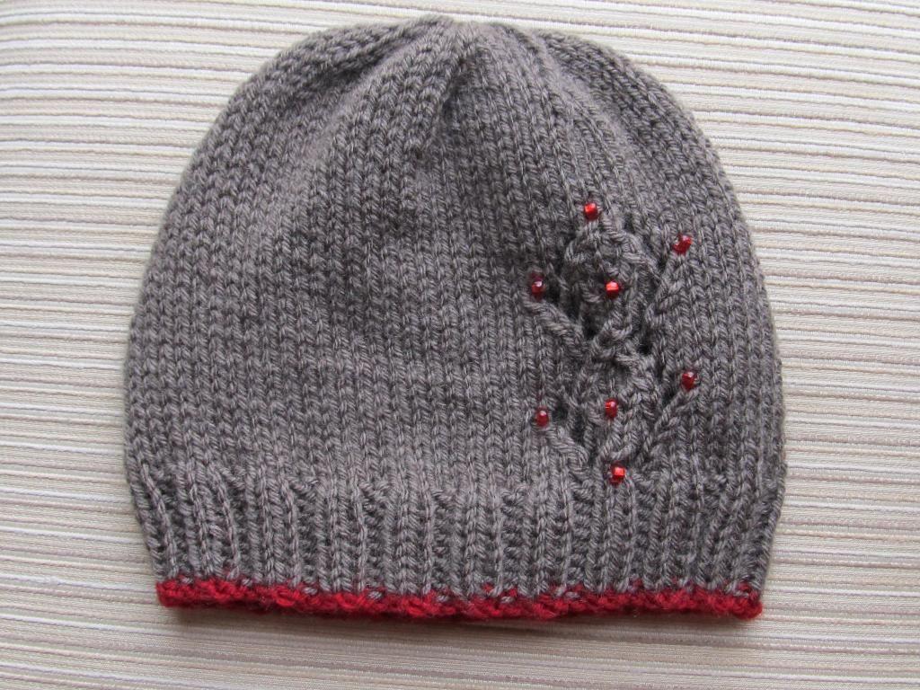 Seamless hat with lacy diamonds diamond pattern patterns and seamless hat with lacy diamonds bankloansurffo Choice Image
