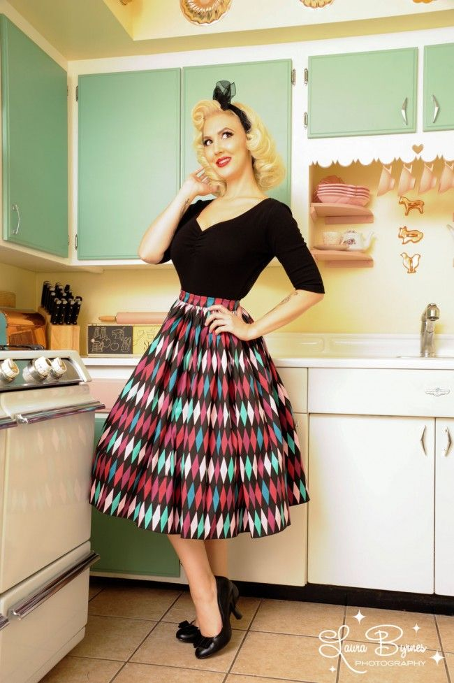 Heartbreaker - Terri Top in Black | Pinup Girl Clothing