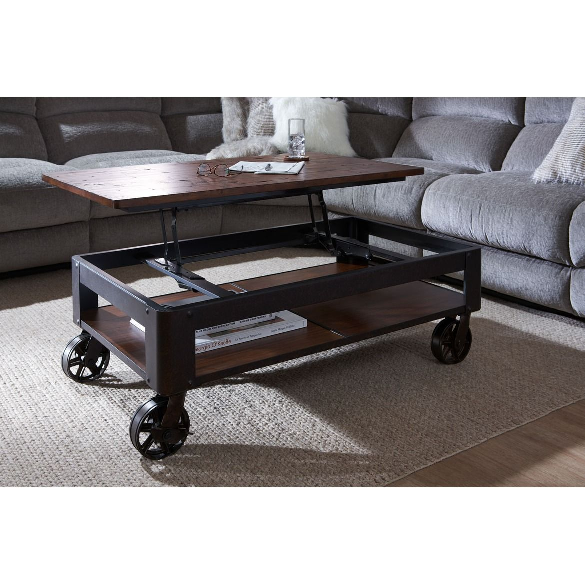 Shortline Lift Top Coffee Table in 2020 Value city