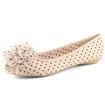 Shoes, Ballerina pumps, Peep toe flats