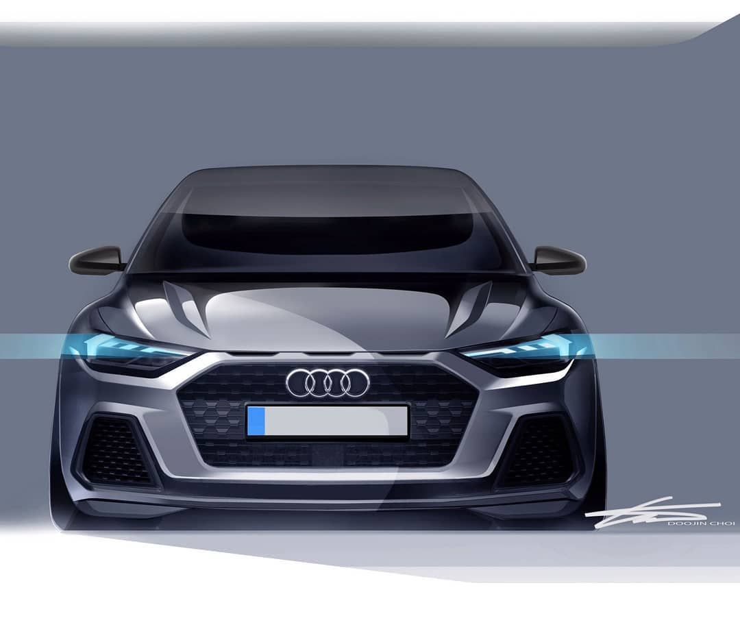 Audia1 Sketch And Production Model Audi Design101trendsofficial
