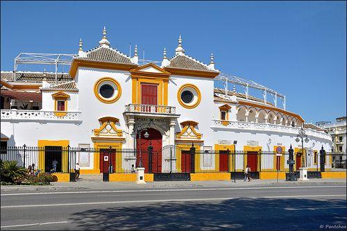 Sevilla Plaza De Toros La Maestranza 1 3 Plaza De Toros La