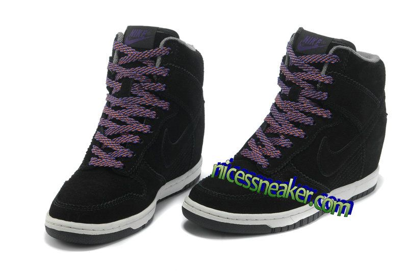 Save Up To 64% Nike Dunk Sky Hi Lib NRQ Casual Black Sail Court Purple · Black  SneakersWomen's ...