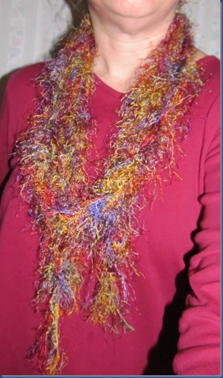 Photo of Funky, Furry Scarf Tutorial