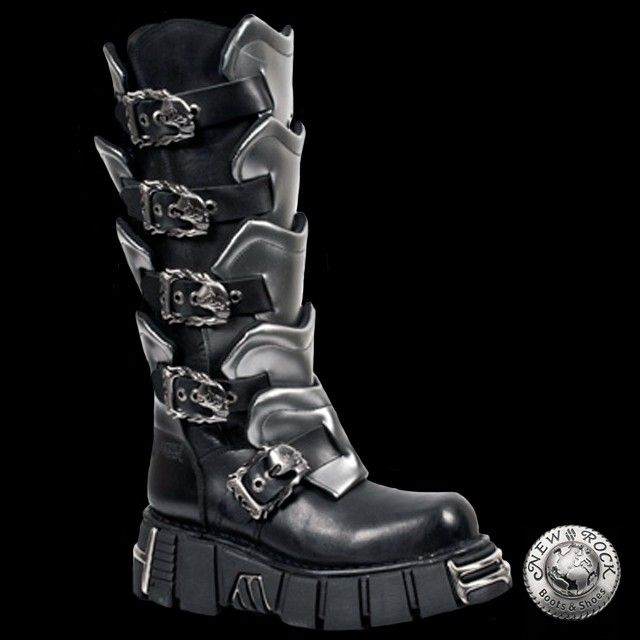 Gladiator Boots738 S1In Rock New Grey 2019Goth kPZXiuwOT