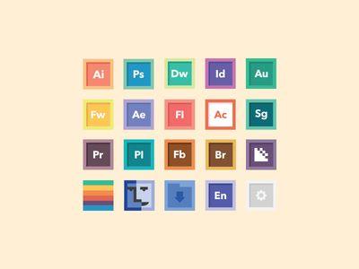 Free Icon Set 1.0  #free #freebie #apple #psd #design #graphicdesign #webdesign #retro